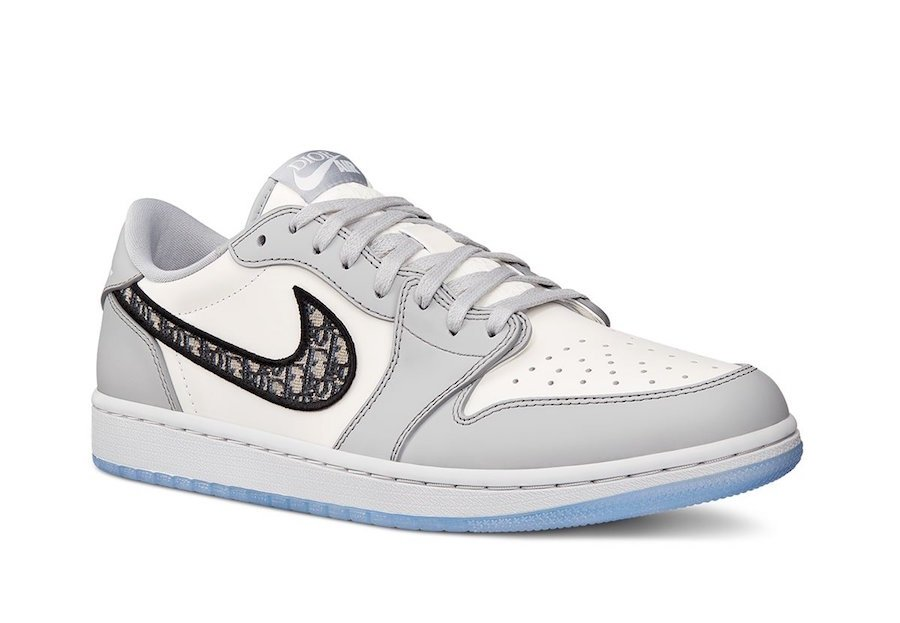 Dior Air Jordan 1 Low Air Dior Collection Release Date Info