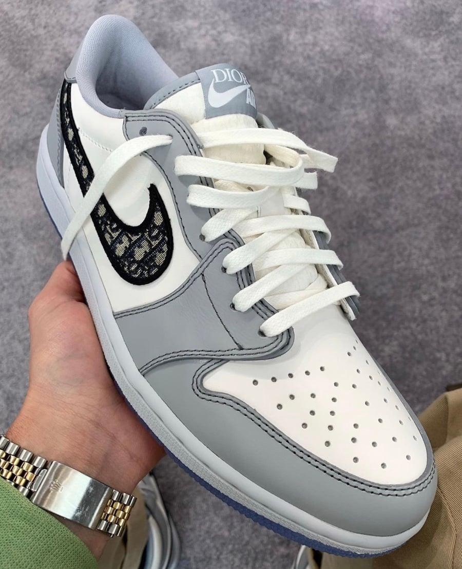 Dior Air Jordan 1 Low Release Date Info