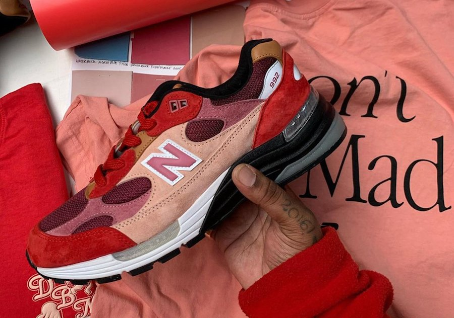 Dont Be Mad New Balance 992 Anatomy of a Heart Release Date Info