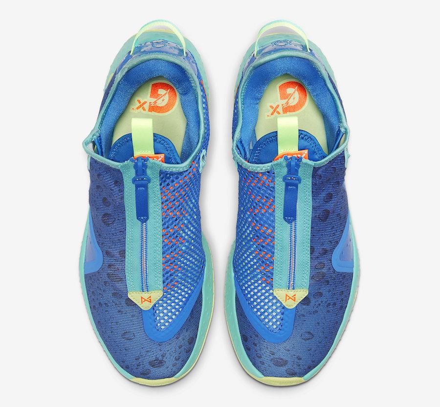 Gatorade Nike PG 4 GE NBA 2K20 CZ6202-400 Release Date