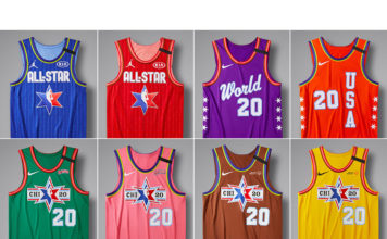 Jordan Brand NBA All-Star 2020 Uniforms