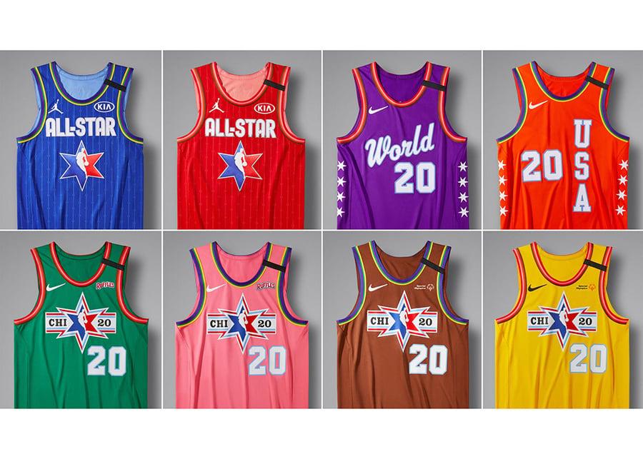 Jordan Brand Unveils the 2020 NBA All-Star Uniforms