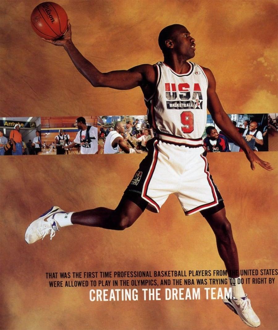 Michael Jordan Nike Air Max 180 Concord Olympics 1992