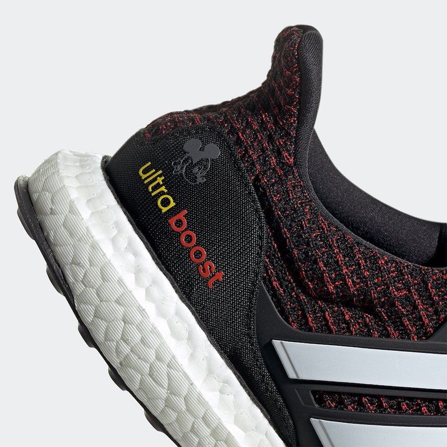 Mickey Mouse adidas Ultra Boost FX7796 Release Date Info