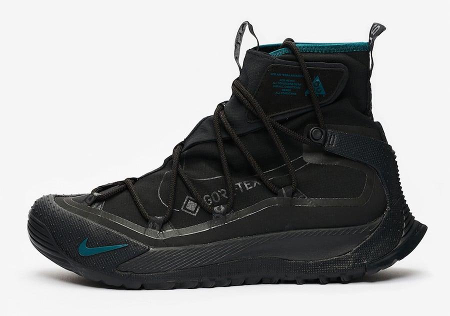 Nike ACG Terra Antarktik Black Midnight Turquoise BV6348-001 Release Date Info