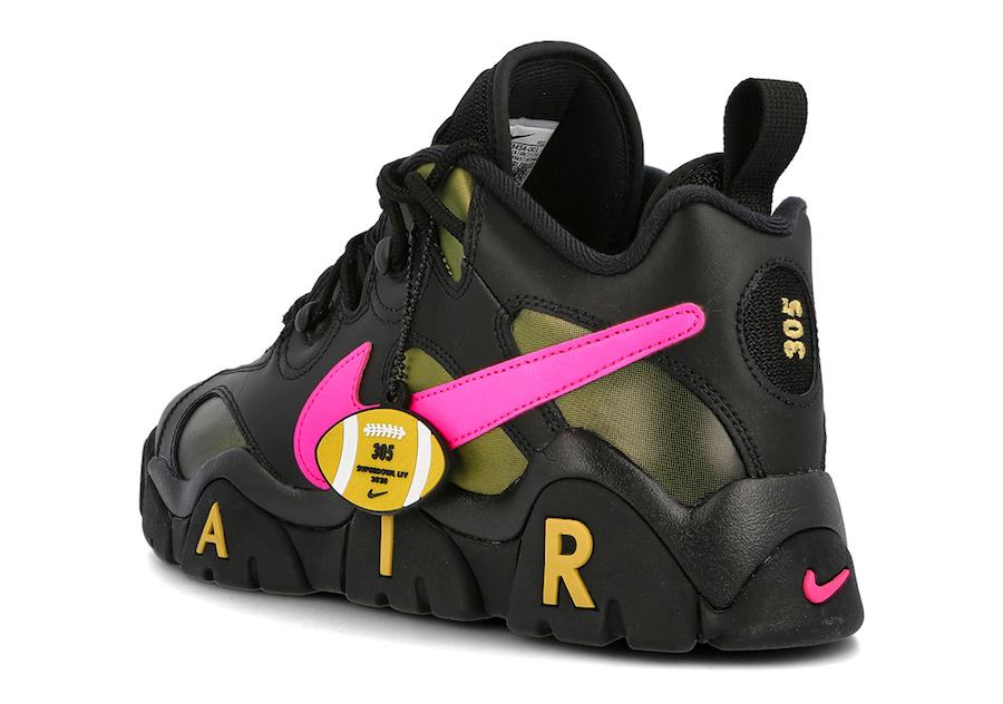 Nike Air Barrage Low Super Bowl LIV CT8454-001 Release Date Info