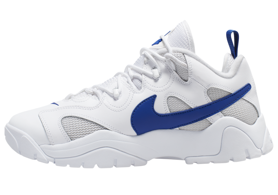 Nike Air Barrage Low White Blue CD7510-100 Release Date Info