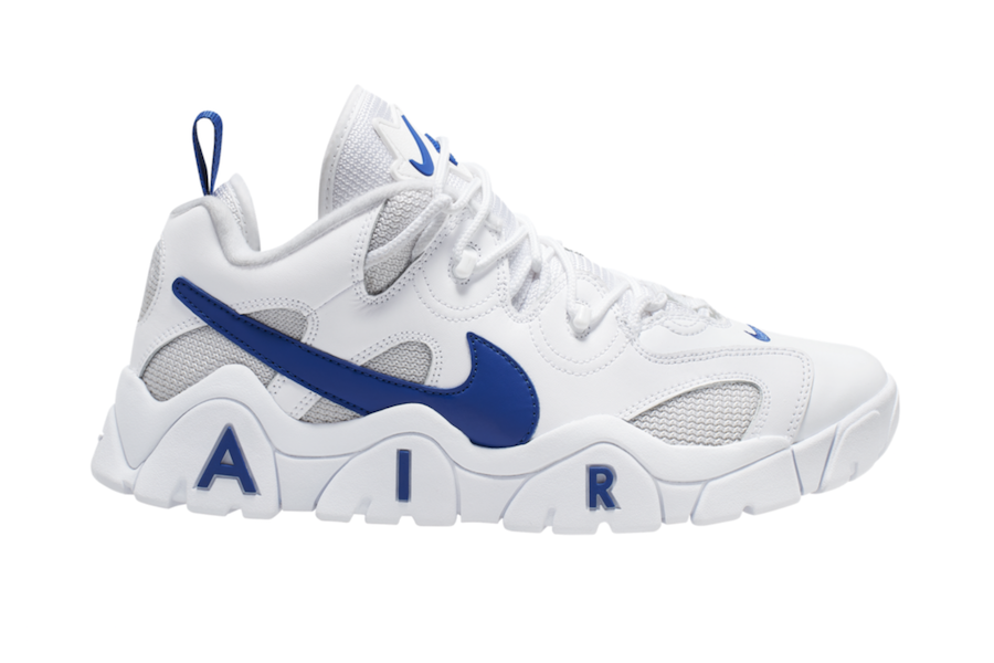 Nike Air Barrage Low White Blue CD7510