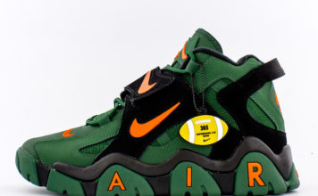 Nike Air Barrage Mid Super Bowl LIV CT8453-300 Release Date Info