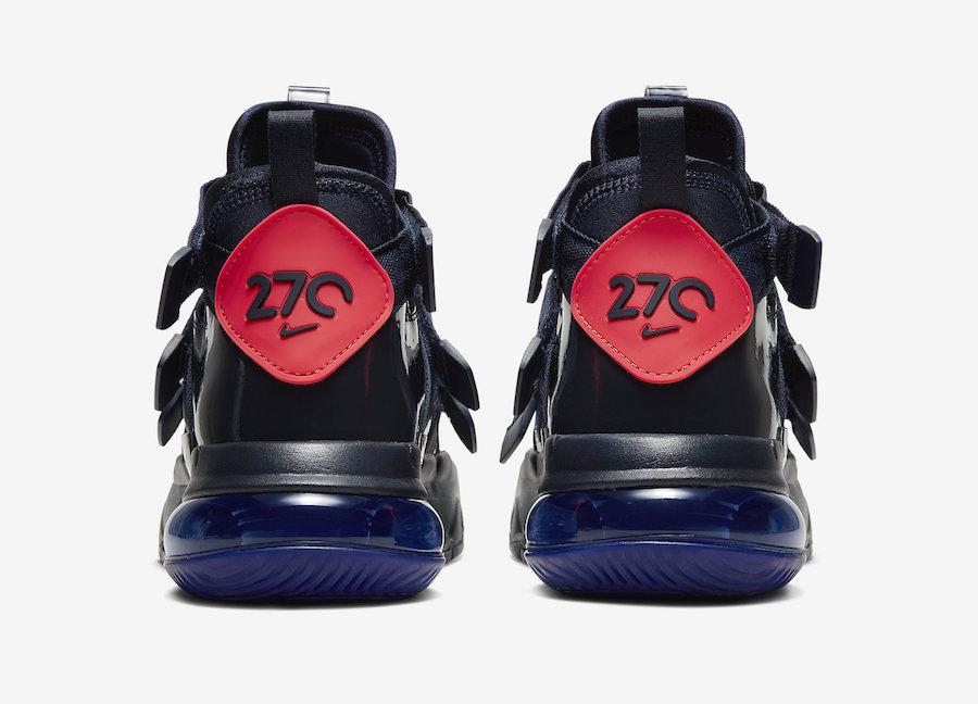 Nike Air Edge 270 Navy Blue AQ8764-402 Release Date Info