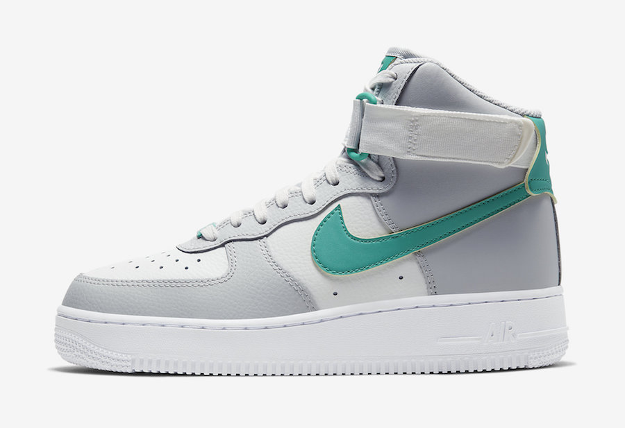 air force 1 high top white
