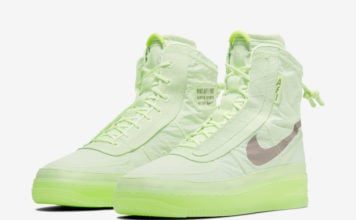 Nike Air Force 1 High Shell Volt BQ6096-700 Release Date Info