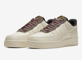 Nike Air Force 1 Low Fossil Wheat Shimmer CK4363-200 Release Date Info