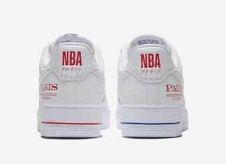 Nike Air Force 1 Low NBA Paris CW2367-100 Release Date info