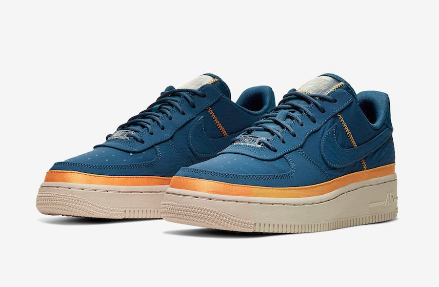 Nike Air Force 1 Low SE Blue Force AA0287-402 Release Date Info