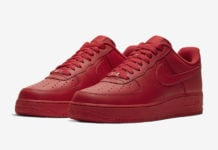 Nike Air Force 1 Low Triple Red CW6999-600 Release Date Info