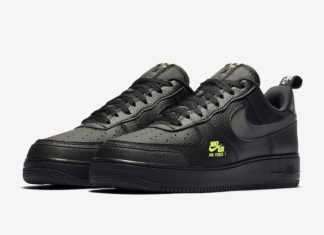 Nike Air Force 1 LV8 Utility Black Grey Volt CV3039-002 Release Date Info
