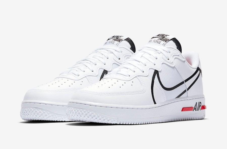 Nike Air Force 1 React DMSX White CD4366 100 |