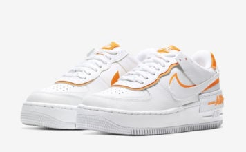 Nike Air Force 1 Shadow White Total Orange CI0919-103 Release Date Info