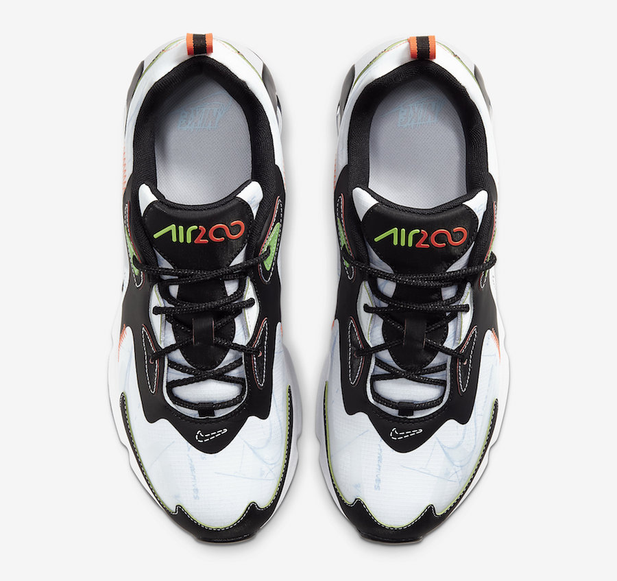 Nike Air Max 200 Blueprint CU6647-100 Release Date Info