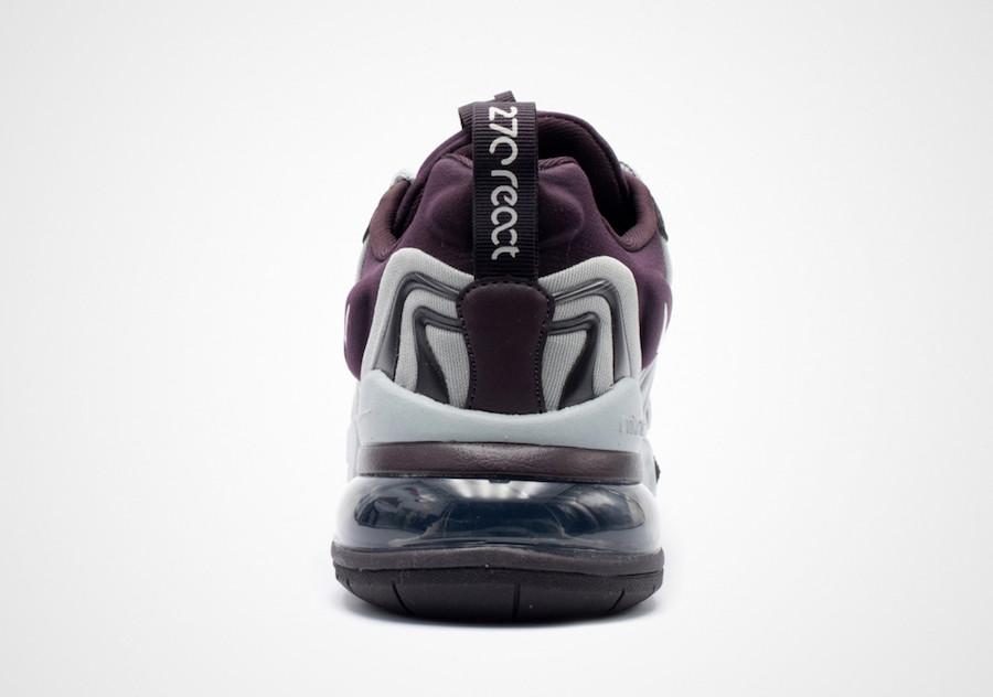 Nike Air Max 270 React ENG Burgundy Ash CK2595-600 Release Date Info