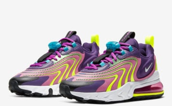Nike Air Max 270 React ENG Eggplant Magic Flamingo CK2595-500 Release Date Info