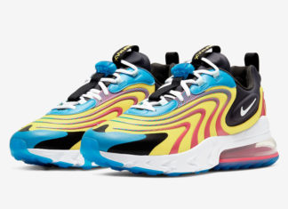 Nike Air Max 270 React ENG Laser Blue White Anthracite CD0113-400 Release Date Info
