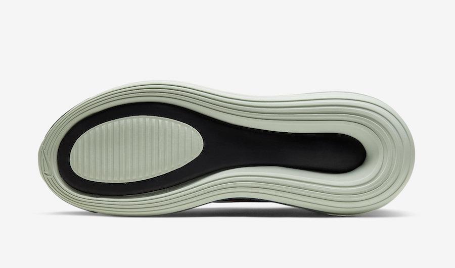 Nike Air Max 720 Black Pistachio Frost Team Orange CU4730-900 Release Date Info