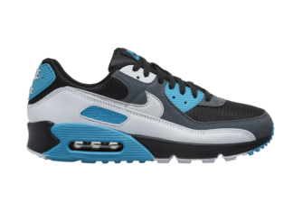 Nike Air Max 90 Black White Blue CT0693-001 Release Date Info