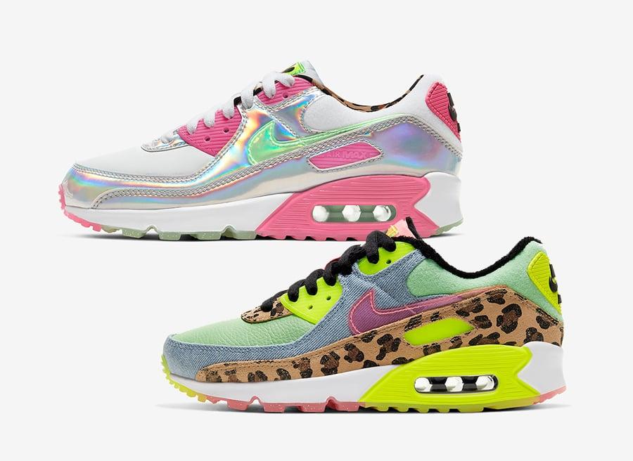 Nike Air Max 90 LX CW3499-300 CQ2559-100 Release Date Info ...