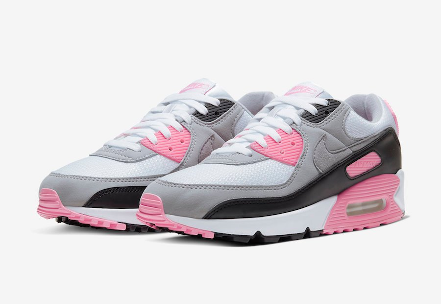 Nike Air Max 90 Rose Pink CD0490 102 Release Date Info
