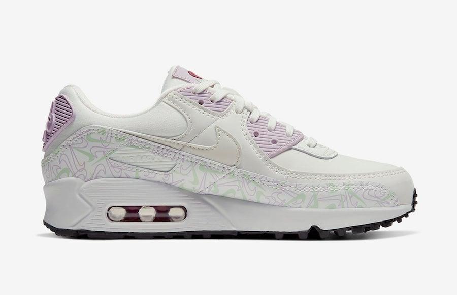 Nike Wmns Air Max 90 LTHR | Gray