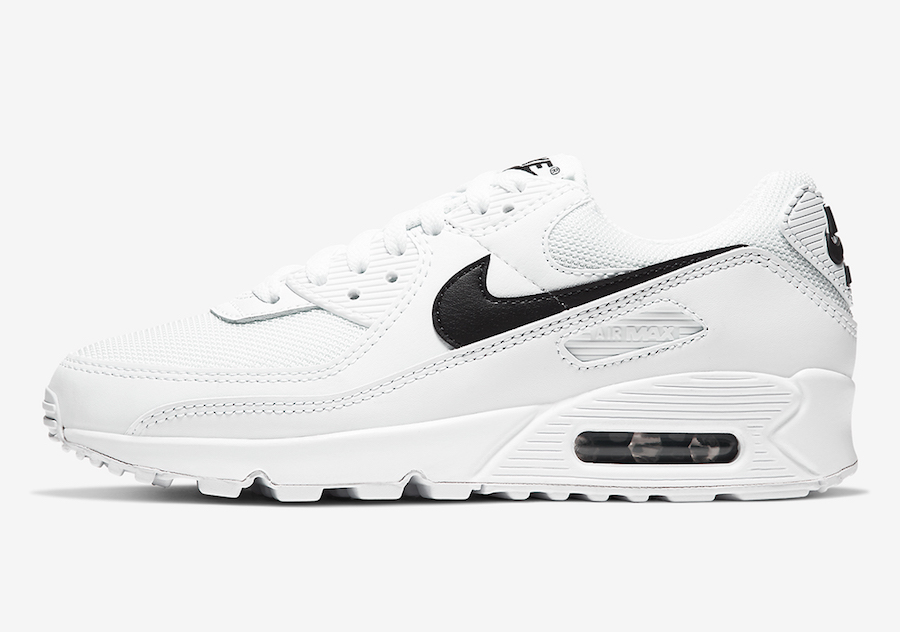 Nike Air Max 90 WMNS White Black CQ2560-101 Release Date Info