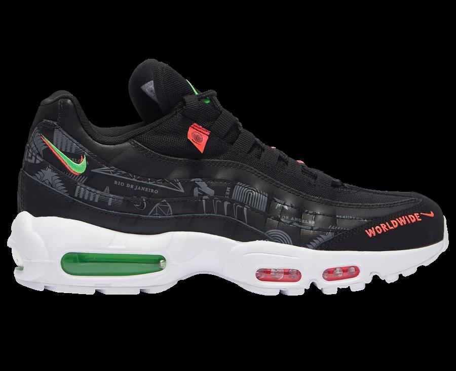 Nike Air Max 95 Worldwide Pack Black CQ9743-001 Release Date Info