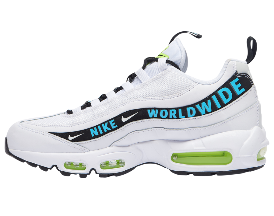 Nike Air Max 95 Worldwide Pack White CT0248-100 Release Date Info