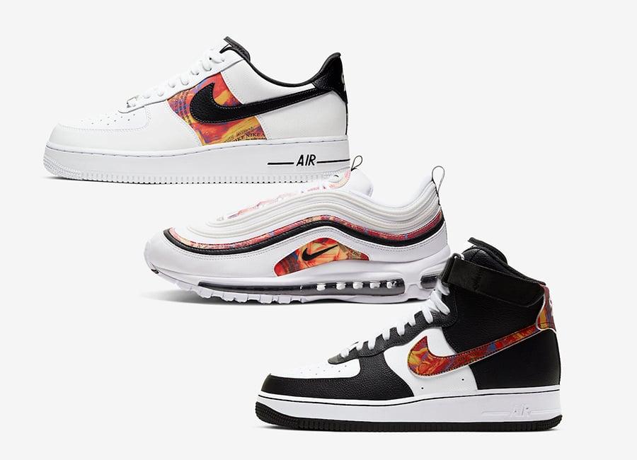 Nike Air Max 97 CU4731-100 Nike Air Force 1 High CU4736-100 Nike Air Force 1 Low CU4734-100 Release Date Info