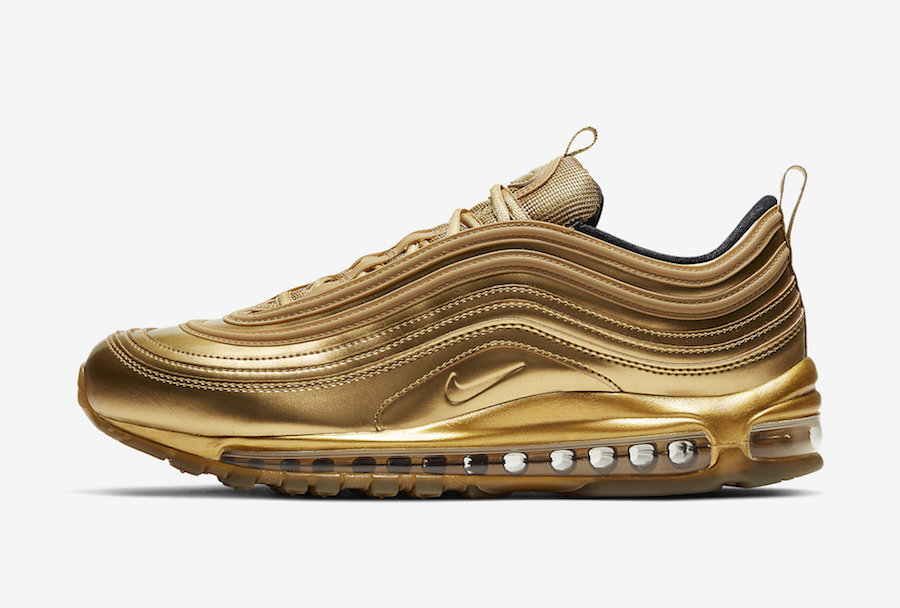 Nike Air Max 97 'Gold Medal' Releasing for the Summer