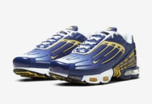 Nike Air Max Plus 3 Deep Royal Topaz Gold CW1417-400 Release Date Info