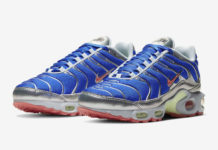 Nike Air Max Plus Blue Metallic Silver CU4819-400 Release Date Info