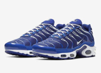 Nike Air Max Plus Blue White CW7024-400 Release Date Info