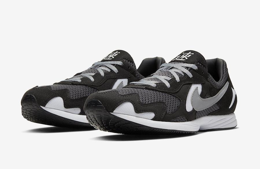 Bigote mineral Aumentar  Nike Air Streak Lite Black Grey CD4387-001 Release Date Info | SneakerFiles