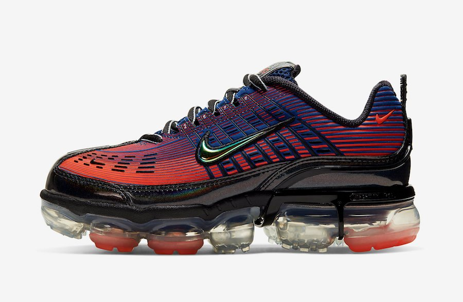 Nike Air VaporMax 360 Blue Void Kinetic Green Magic Ember CK2719-400 Release Date Info