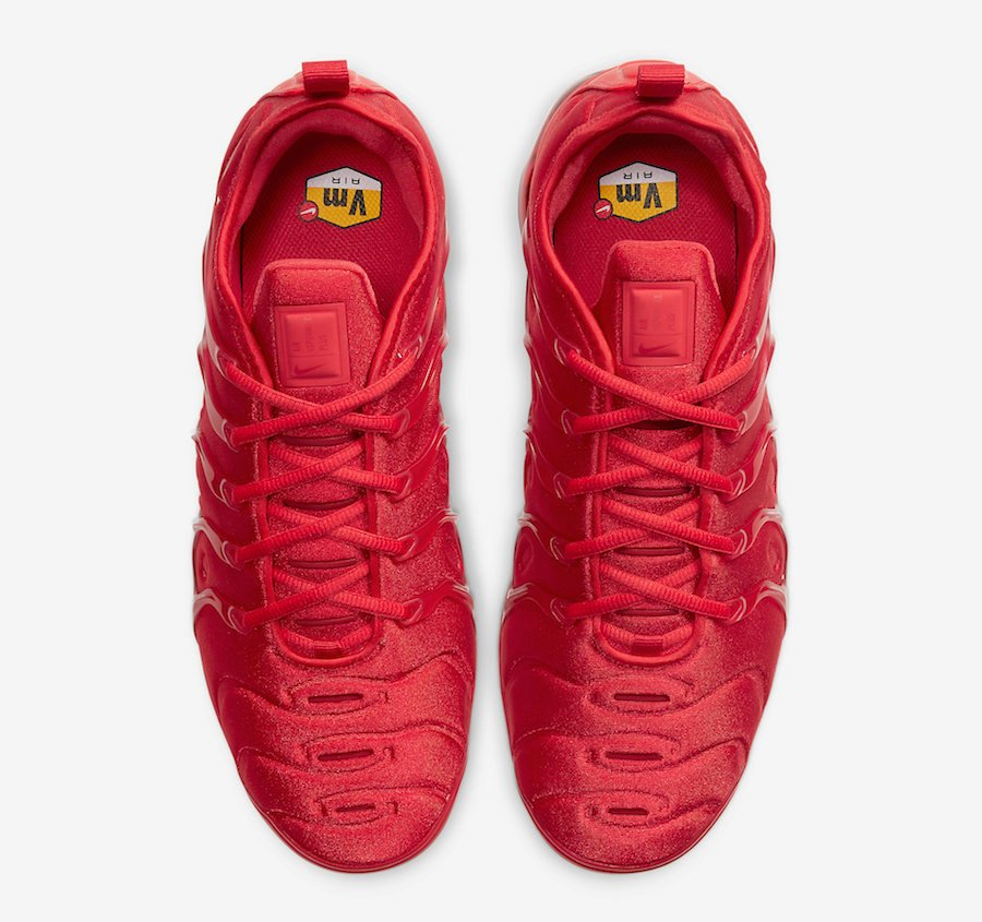 Nike Air VaporMax Plus Red CW6973-600 Release Date Info