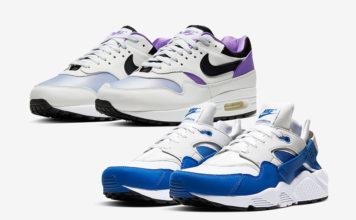 Nike DNA Series 87 x 91 Air Max 1 AR3863-101 Huarache AR3864-101 Release Date Info