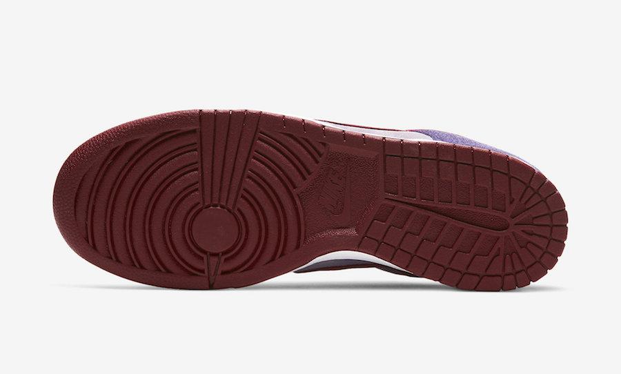 Nike Dunk Low Plum CU1726-500 2020 Release Date