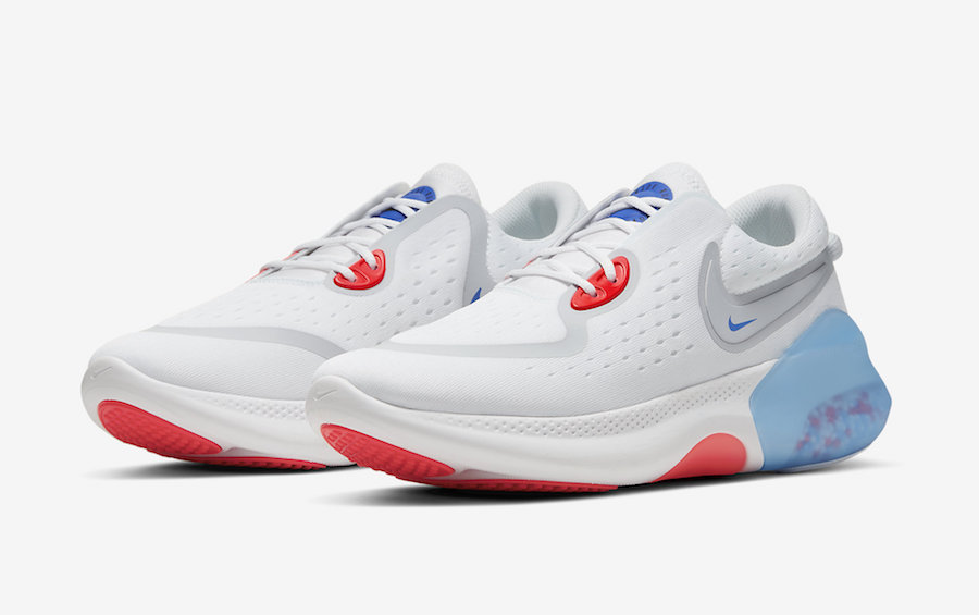 """Nike Air Force 1 Low """"NBA Paris"""" WhiteUniversity Red Rush Blue For Sale"""