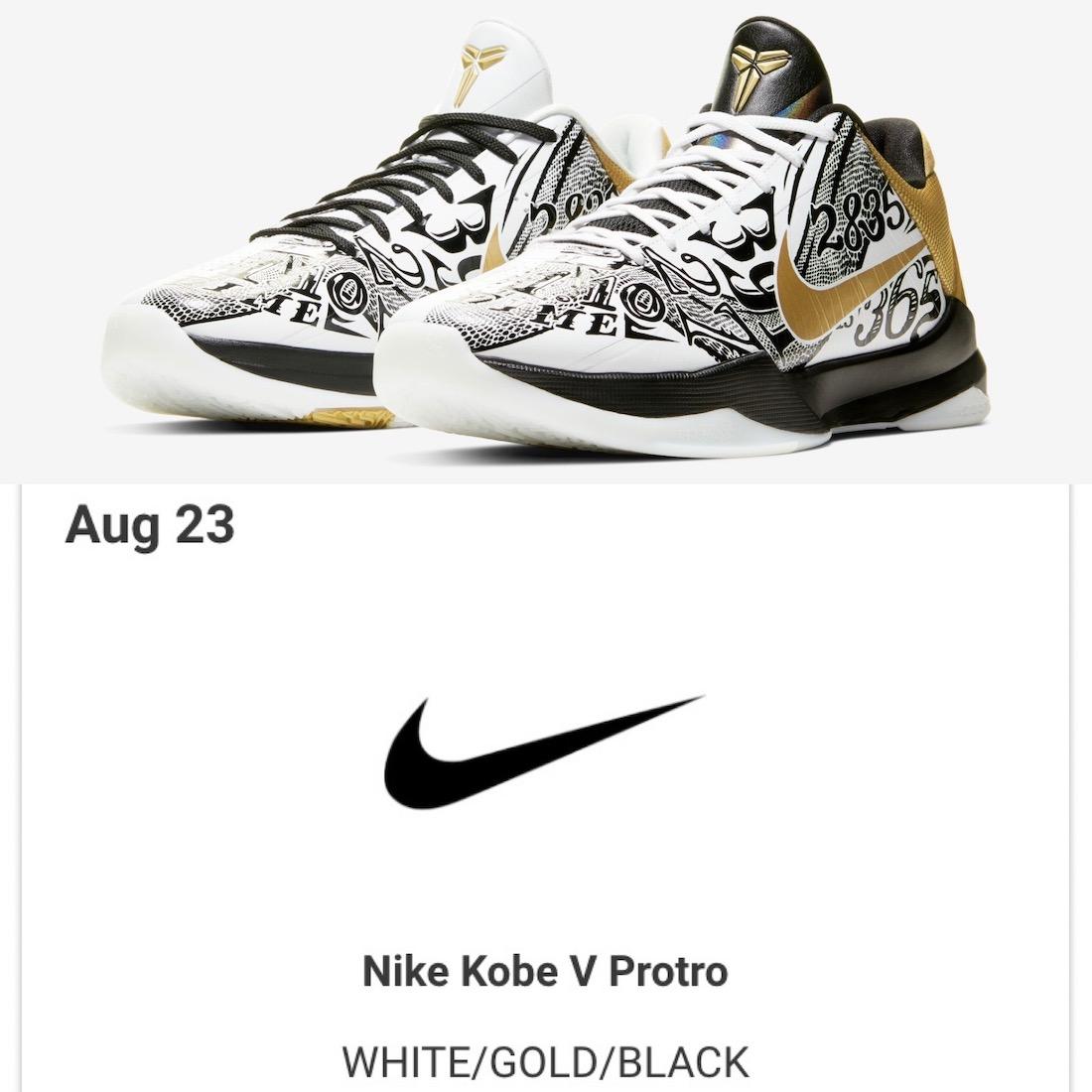 Nike Kobe 5 Protro Big Stage CT8014-100