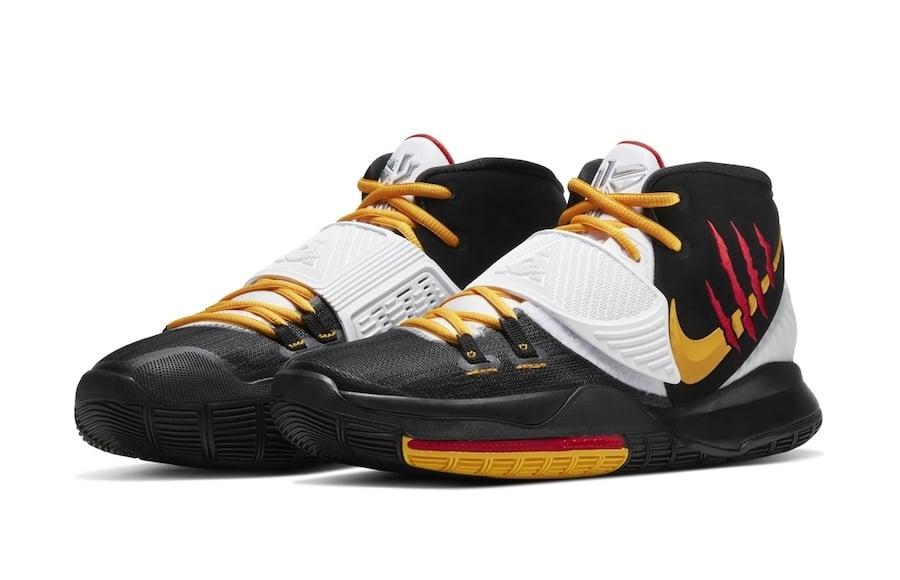 Nike Kyrie 6 Black Bruce Lee Release Date