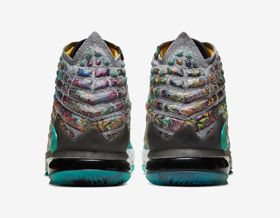 Nike LeBron 17 I Promise CD5052-300 Release Date