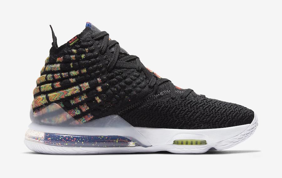 Nike LeBron 17 James Gang BQ3177-005 Release Date